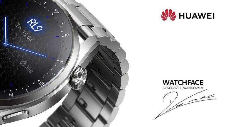 Серията HUAWEI Watch 3 идва с ексклузивен циферблат с подписа на Роберт Левандовски