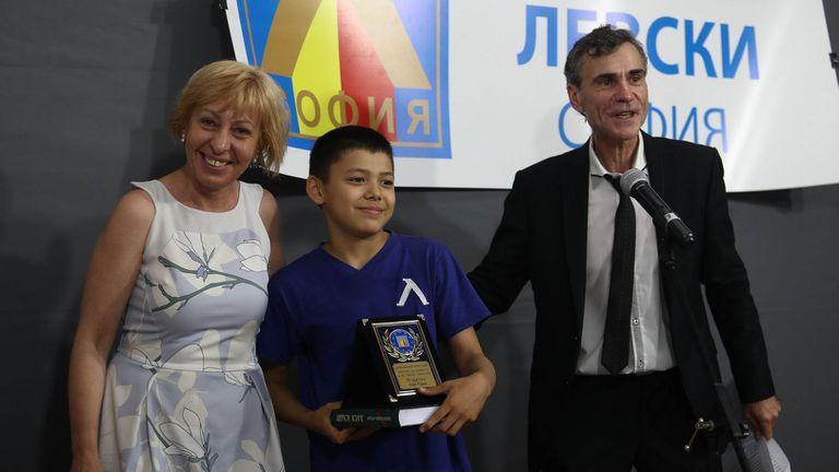 ОСК Левски награди най-добрите си спортисти