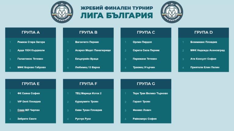 """Без засади: Жребий финален турнир """"Лига България"""""""