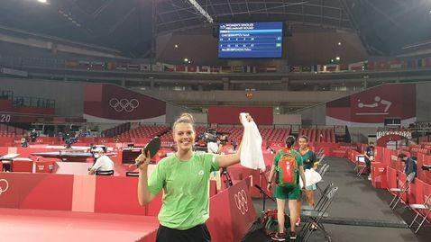 Полина Трифонова: Не играх на 100%, но и това беше достатъчно да премина този кръг