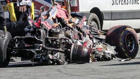 От Ред Бул разкриха колко струват щетите по болида на Верстапен