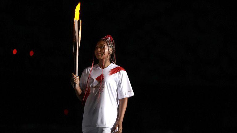 Наоми Осака: Запалването на олимпийския огън е най-голямата чест