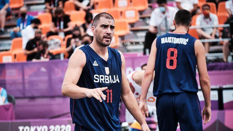 Сърбия започна с две победи в баскетбола 3х3 на Игрите в Токио
