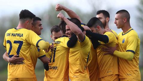 Мощно завръщане на Марица в професионалния футбол