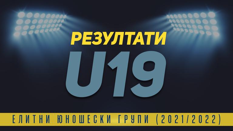 ЦСКА - София остана едноличен лидер в U19