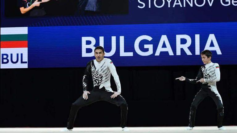 Българите четвърти в темповата комбинация на Европейското по спортна акробатика