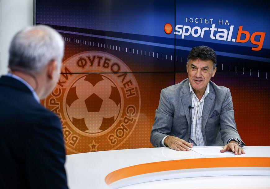 "Борислав Михайлов в ""Гостът на Sportal.bg"""