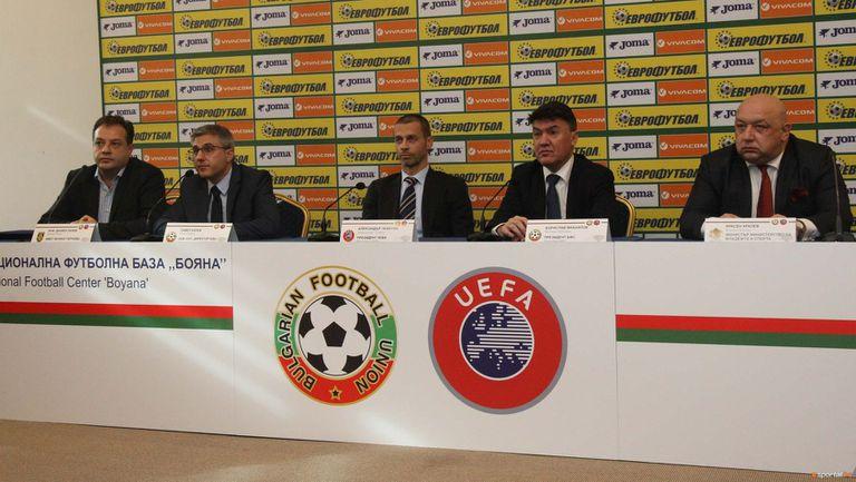 Михайлов: Всички членове на УЕФА сме против промяна календара на световните първенства