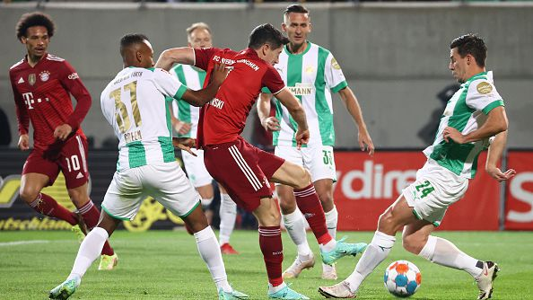 10' Гройтер Фюрт - Байерн Мюнхен 0:1