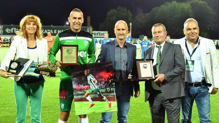 Мартин Камбуров получи Златната обувка за голмайстор номер 1 в българското първенство