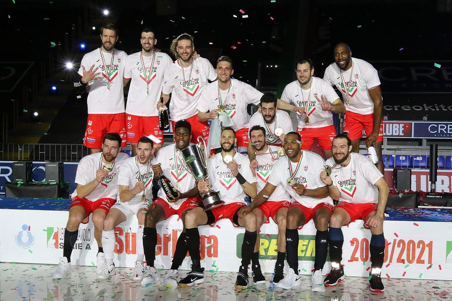 Лубе удари Перуджа във финал №4 и триумфира с титлата на Италия 🏐
