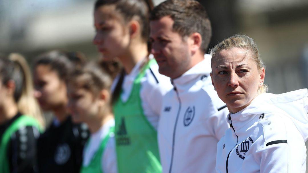 Радойска: Доволна съм от играта и резултата, понякога сме прекалено припряни пред гола