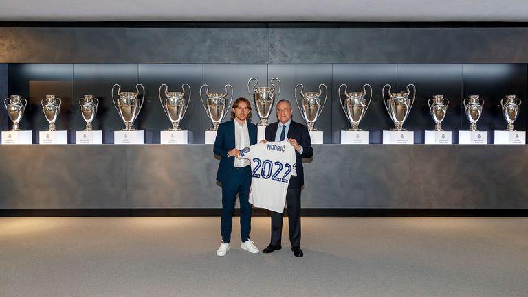 Реал официално обяви новината за Модрич