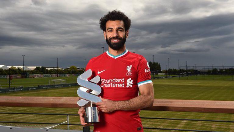 Салах е Играч на сезона в Ливърпул