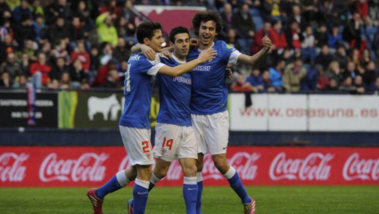 Атлетик Билбао със смазваща победа в Памплона (видео)