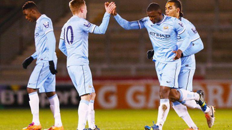 Младежите на Юнайтед загубиха от Сити