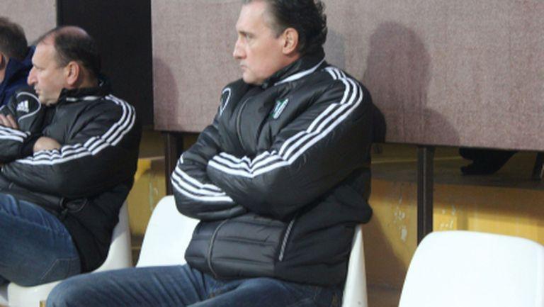 Кирил Домусчиев бетонира новия испански треньор на Лудогорец