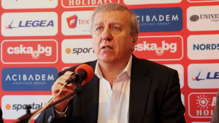 ЦСКА пак ще се бори за титлата, обеща Сашо Томов (видео)