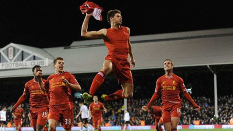 Ливърпул измъкна победата срещу Фулъм в трилър с пет гола (видео)
