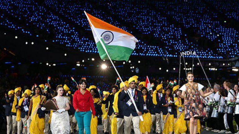 Издигнаха знамето на Индия в олимпийското село в Сочи