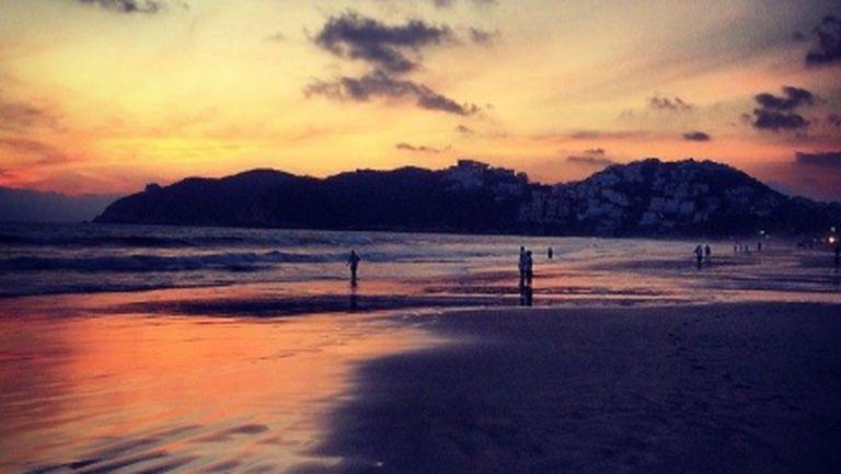 Гришо поздрави феновете с красив залез от Акапулко