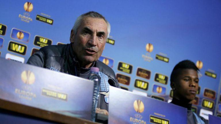 Треньорът на Лацио: Лудогорец е много силен, трябва да направим нещо изключително, за да ги отстраним (видео)