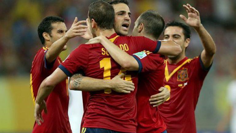 Испания - Уругвай 2:1