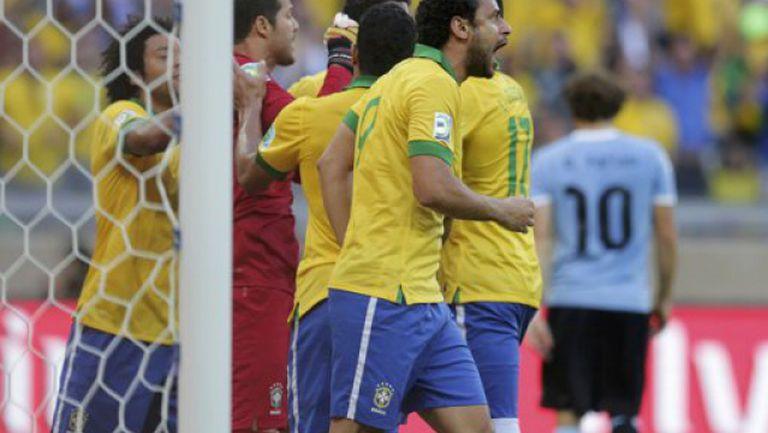 Бразилия - Уругвай 2:1