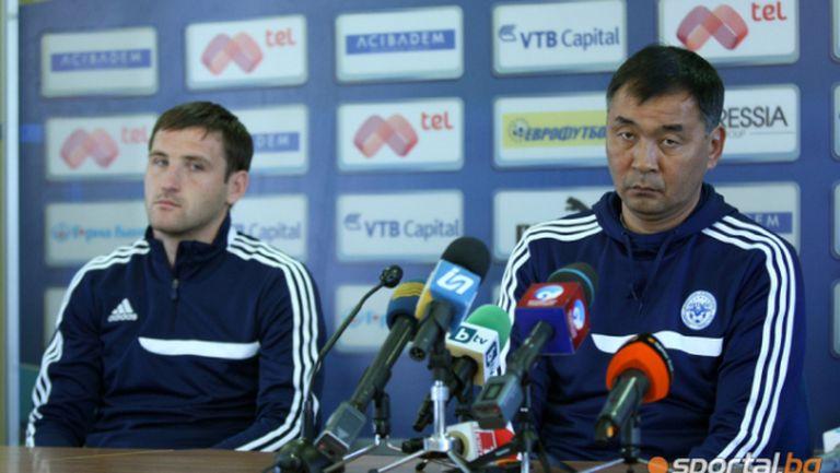 Треньорът на Иртиш респектиран от Левски