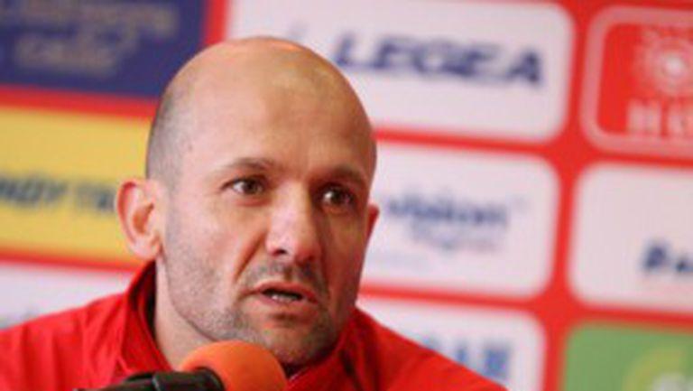 Треньорът на ЦСКА: Някои не стават дори за мач с Чавдар