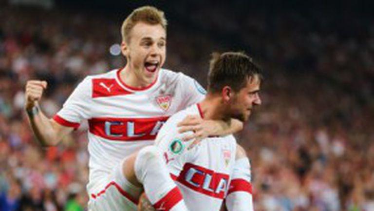 Щутгарт е съперникът на Байерн на финала за Купата на Германия (видео)