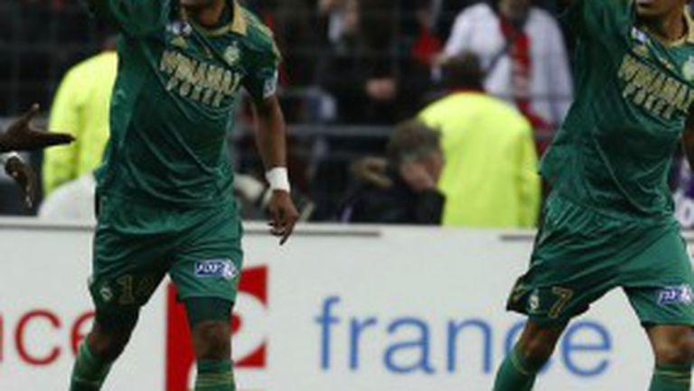 Сент Етиен триумфира с Купата на Лигата във Франция