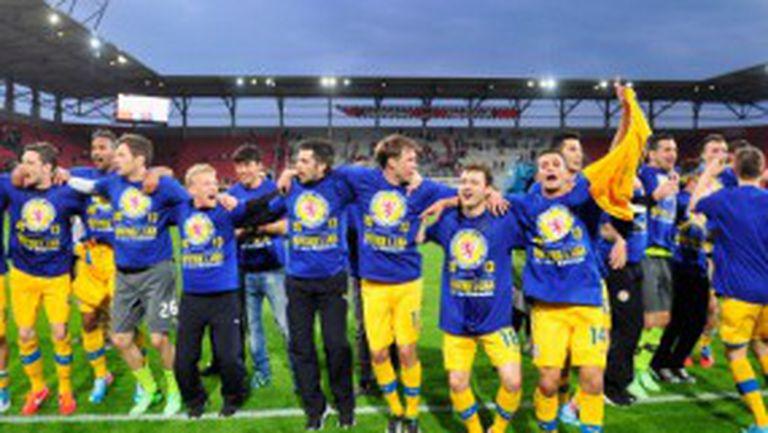 Айнтрахт (Брауншвайг) би тима на Мицански и влезе в Първа Бундеслига