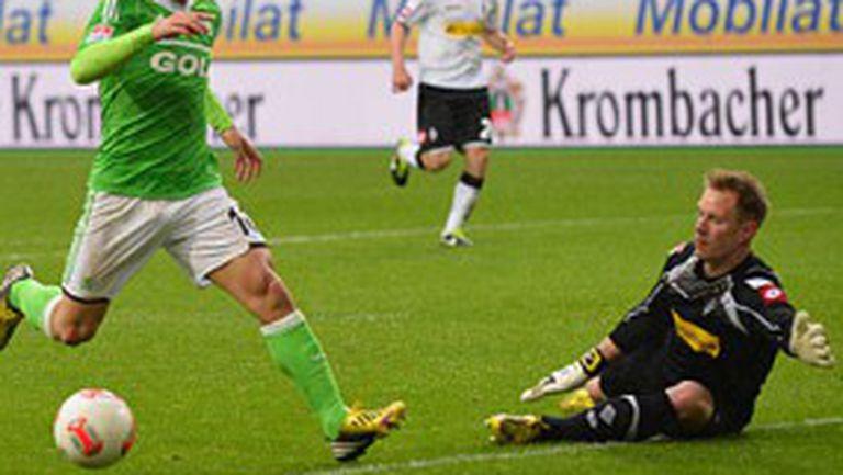 Диего води Волфсбург към Европа (видео)