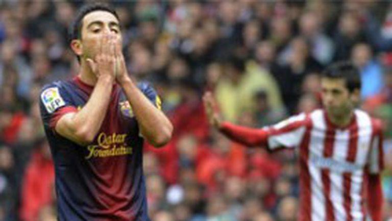 Барса и Меси изпуснаха победата в Билбао в 90-ата (видео)