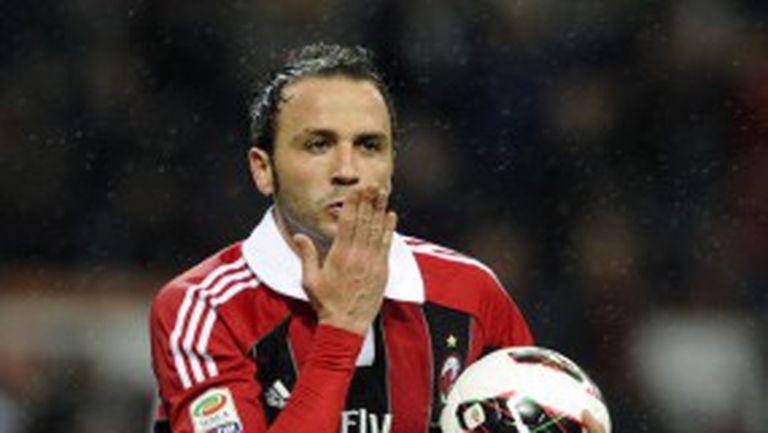 Супер Пацини върна третото място на Милан в трилър с Катаня (видео)