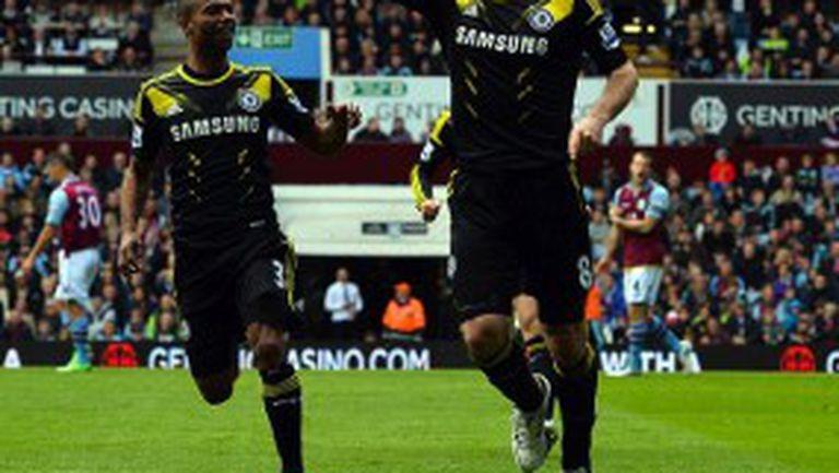 Лампард стана най-големият голмайстор в историята на Челси пред погледа на Стилиян (видео)