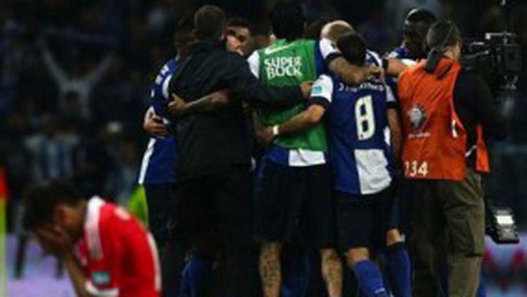 Шокиращ обрат в битката за титлата в Португалия (видео)