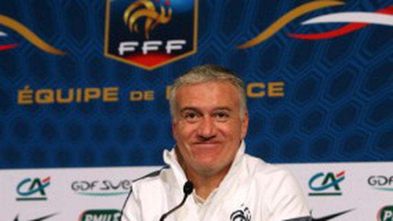Дешан викна двама дебютанти за Уругвай и Бразилия