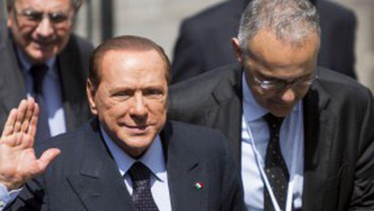 Берлускони отмени визитата си при Милан
