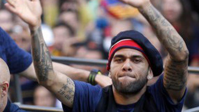 Дани Алвеш: Не затварям вратата на ПСЖ, както и на никой клуб
