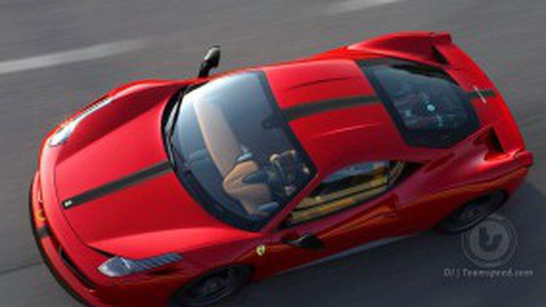 Ferrari праща 458 Scuderia във Франкфурт с 600 кс
