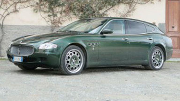 Уникално Maserati Quattroporte комби отива на търг