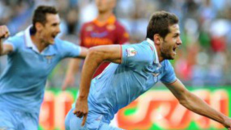 Лацио подчини Рома и триумфира с Купата на Италия (видео+галерия)