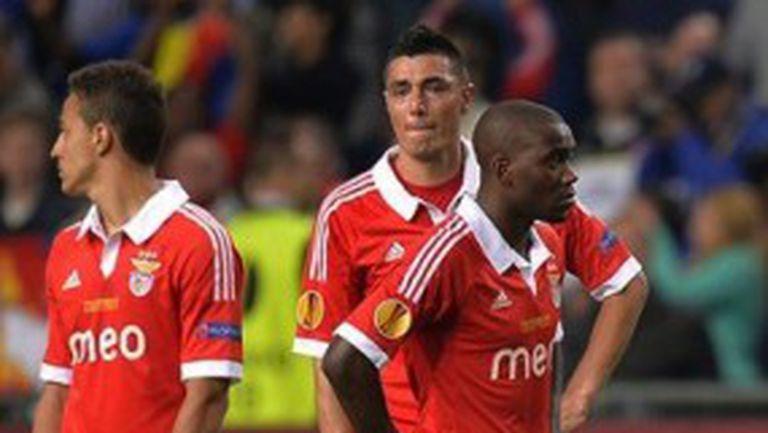 Пълен провал за Бенфика след загуба на финала и за Купата на Португалия