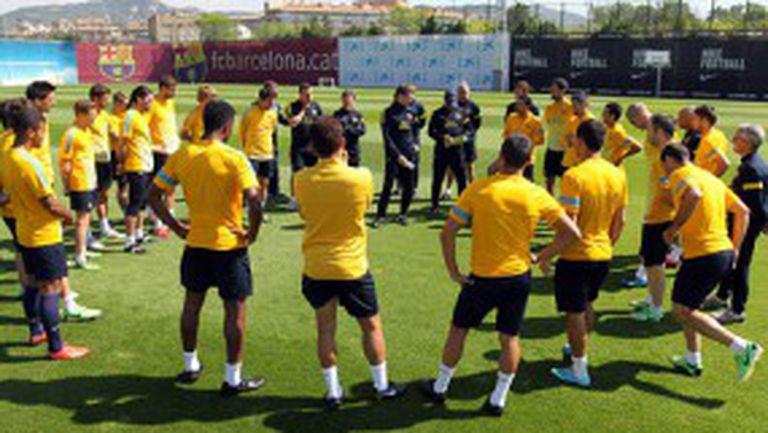 Барса с група от 21 футболисти за Купата на Каталуня