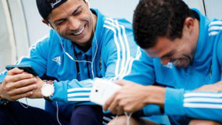 Кристиано Роналдо е №1 в социалните мрежи