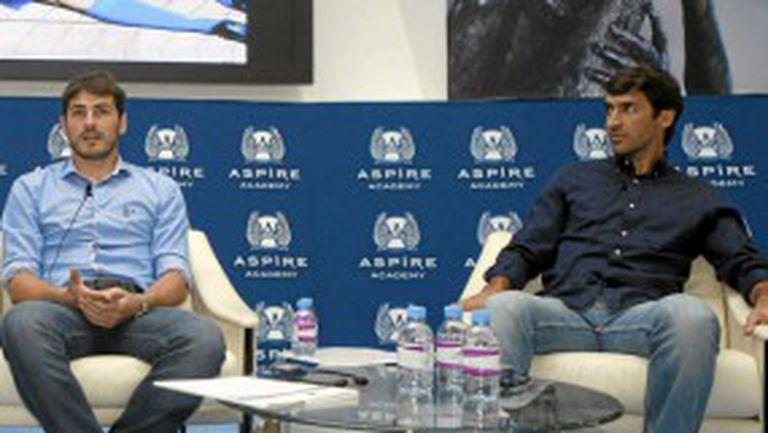 Касийяс се събра с Раул в Катар