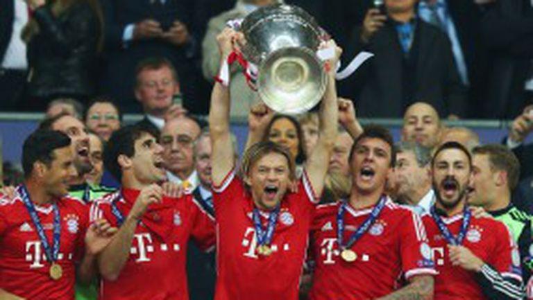 Байерн измести Юнайтед в класацията за най-стойностен клуб