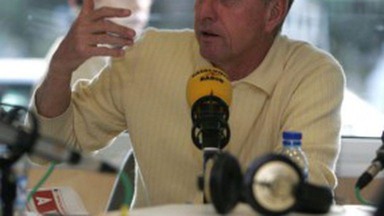 Кройф поискал от журналист €5 за такси